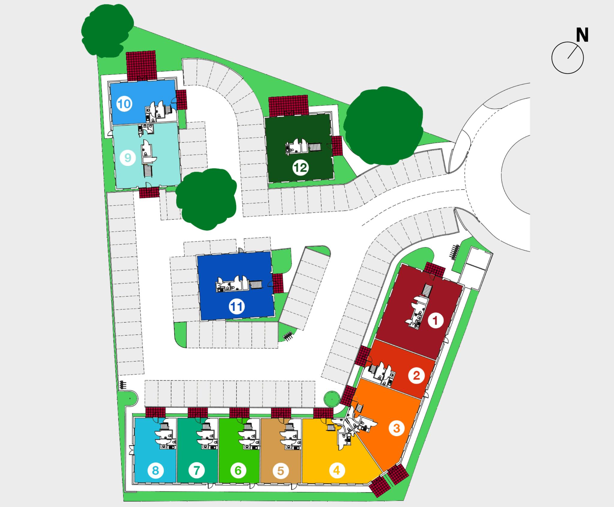 The Courtyard plan